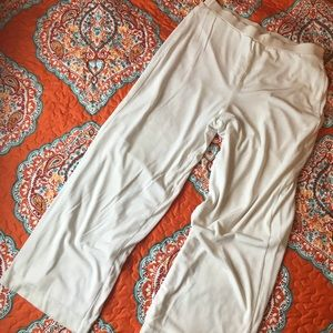 White Chico's Travelers Pants - Size 2